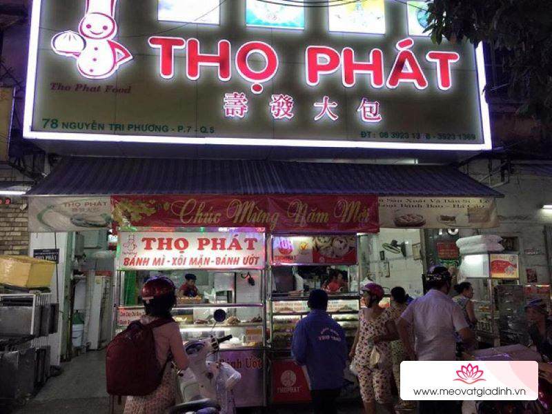 Bánh bao Thọ Phát ở siêu thị bán có giống ở ngoài tiệm không