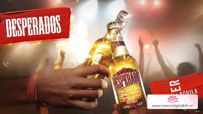 Bia Desperados cá tính và phóng khoáng