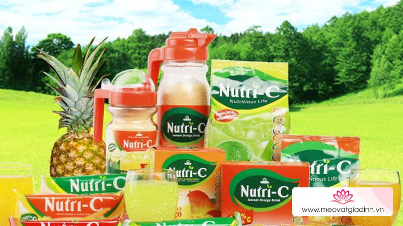 Bột cam Nutri-C có tác dụng gì?