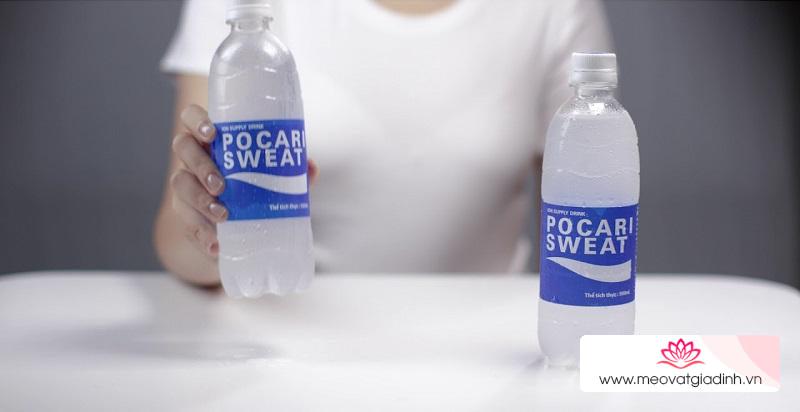 Bù nước bù khoáng nhanh gấp 2 lần với nước uống vận động Pocari Sweet