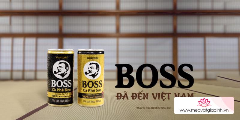 Cà phê này đậm phết! Cà phê Boss – Thương hiệu cà phê bán chạy hàng đầu Nhật Bản