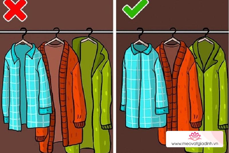 Các mẹo giúp quần áo không bị hỏng khi bảo quản trong tủ lâu ngày