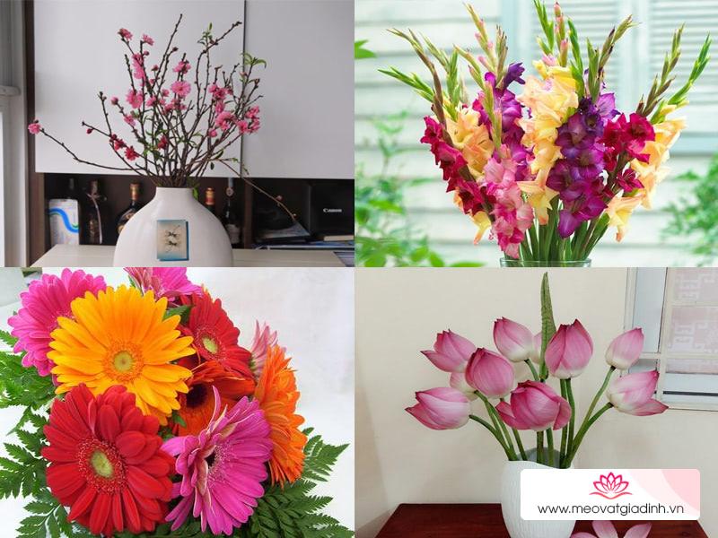 Cách chọn hoa chưng bàn thờ tổ tiên ngày Tết