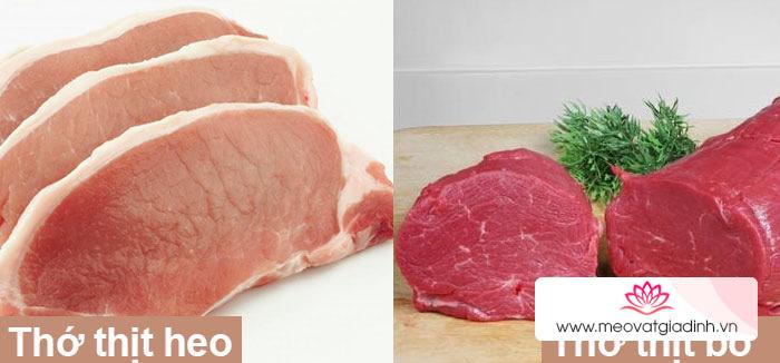 Cách nhận biết thịt bò giả làm từ thịt heo và hóa chất