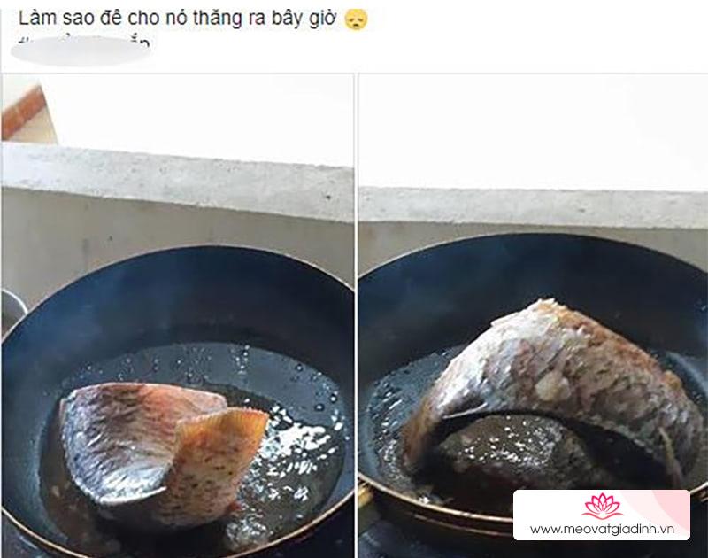 Cách rán cá ngon, giòn và có màu đẹp mắt không bị cong