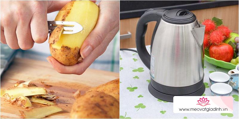 Cách sử dụng khoai tây để tẩy các vết bẩn cứng đầu