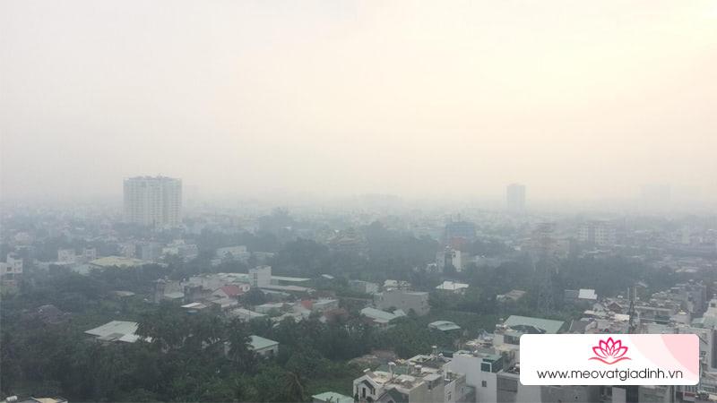 Cảnh báo ô nhiễm không khí ở TP.HCM lên mức báo động