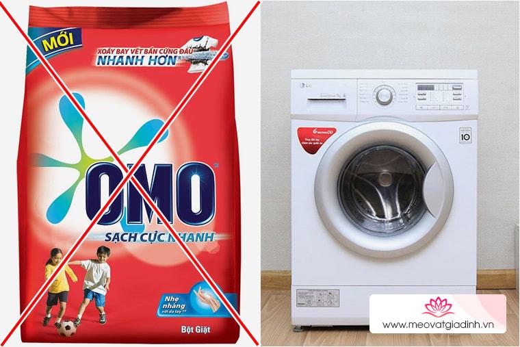 Chọn mua bột giặt cho máy giặt tốt