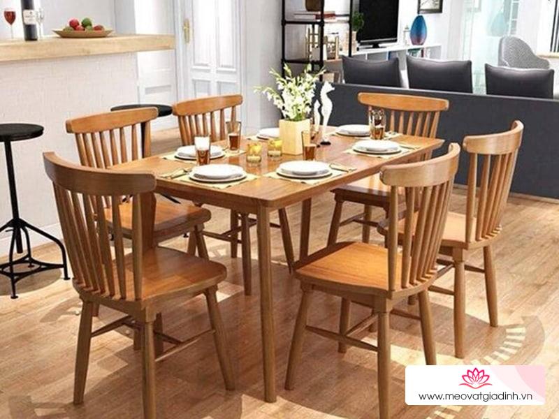Đặt bàn ăn nên tránh 6 điều này để có phong thuỷ tốt cho cả ngôi nhà