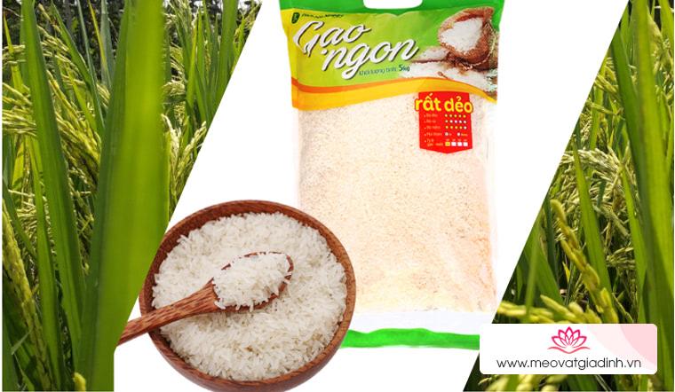 Gạo cực dẻo giá cực thơm đến từ Mẹo vặt Gia đình