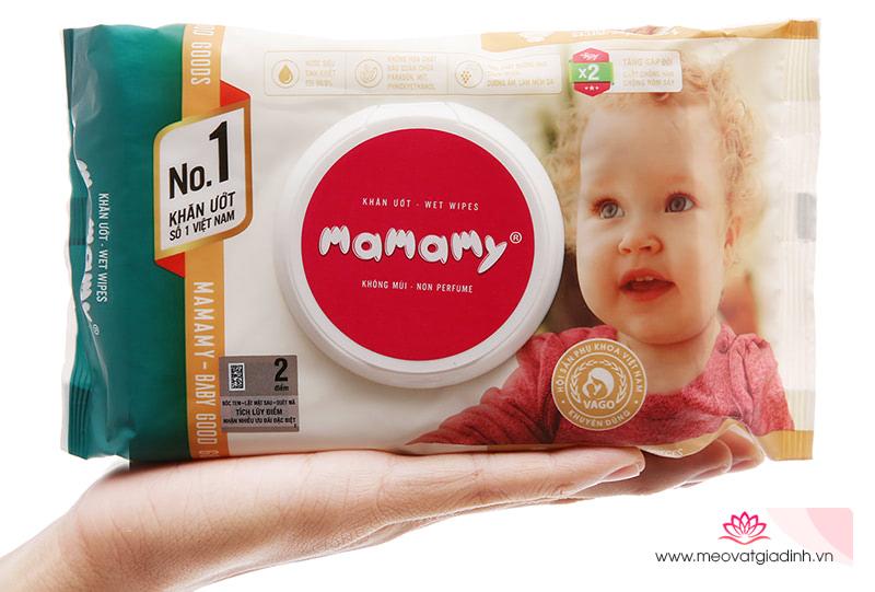 Khăn giấy ướt Mamamy có tốt không? Cùng tìm hiểu trong bài viết dưới đây nhé!