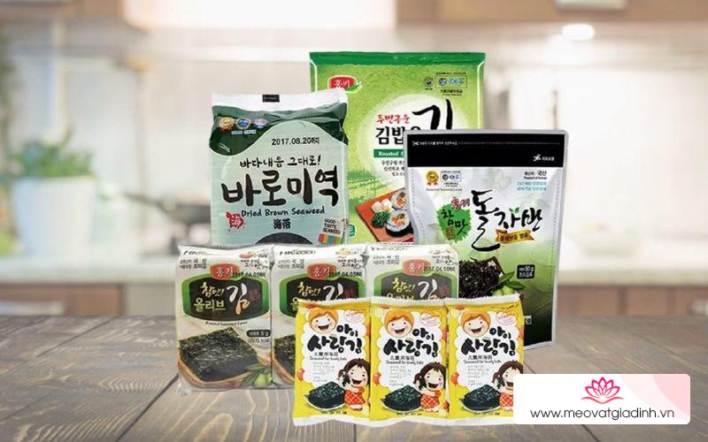 Làm cơm cuộn rong biển ngon như Hàn Quốc với rong biển Seavege