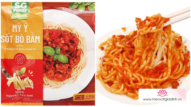 Lười vào bếp? Đừng lo đã có thực phẩm chế biến sẵn SG Food siêu tiện lợi