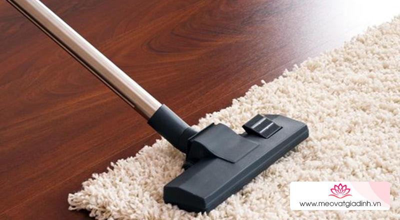 Mẹo vệ sinh thảm chùi chân sạch sẽ