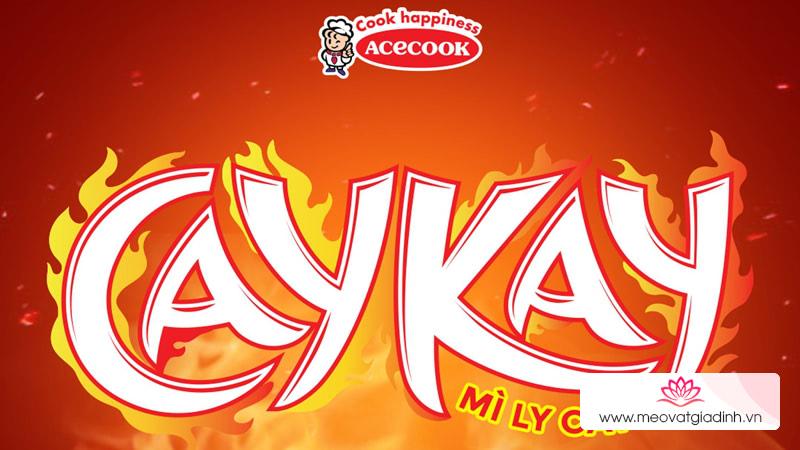 Mì CayKay có những loại nào?