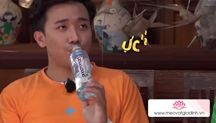 Nước lọc Good Mood vị sữa chua, vị cam trong Running Man có ngon không?