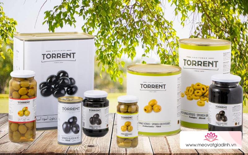 Oliu tách hạt Torrent có hương vị như thế nào?
