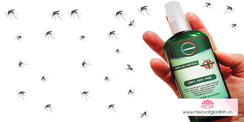 Phun thuốc xịt muỗi có ảnh hưởng tới bà bầu?