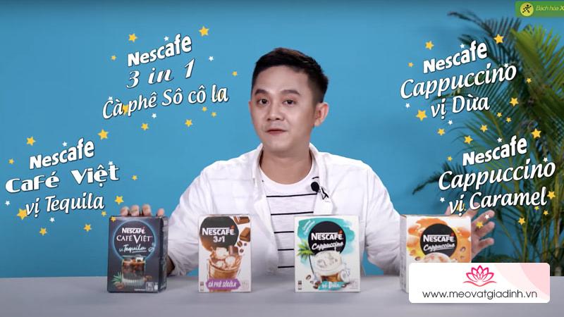 Review 4 hương vị mới của Nescafe Độc đáo từ thiết kế đến hương vị