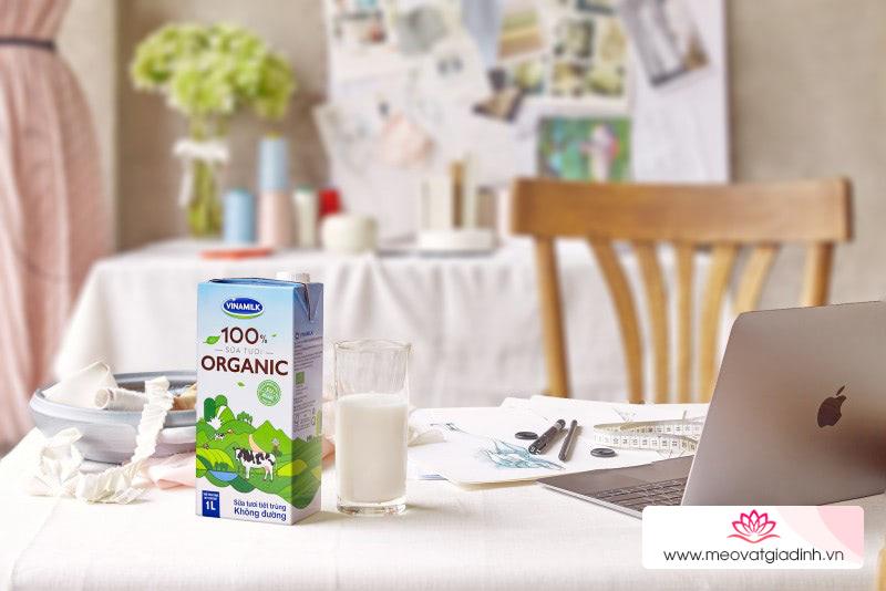 Sữa tươi 100% organic của Vinamilk sản xuất thế nào?