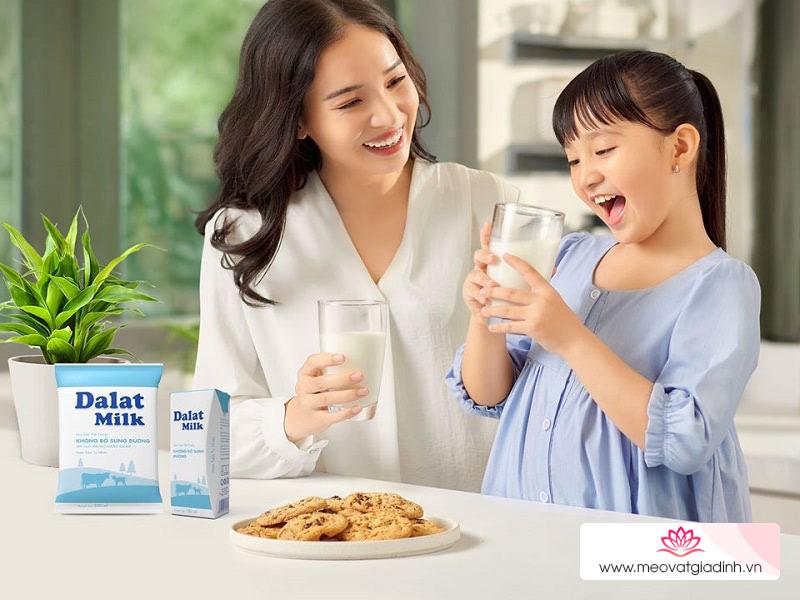 Sữa tươi Dalat Milk có tốt không?