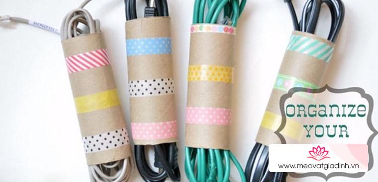Cách tái chế lõi giấy vệ sinh thành các vật dụng đẹp và hữu ích