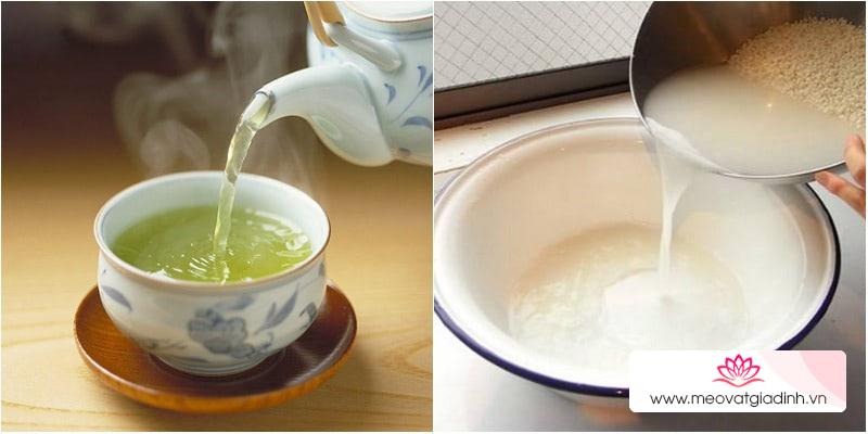 Tại sao nên lau đồ gỗ mới mua với nước trà?