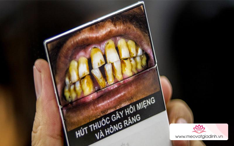 Tự tin giao tiếp với cách khử mùi thuốc lá trong miệng
