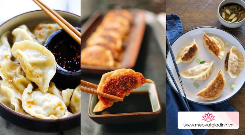 Vũ trụ bánh xếp Mandu, gyoza và sủi cảo, rốt cuộc là 1 hay là 3 loại khác nhau?
