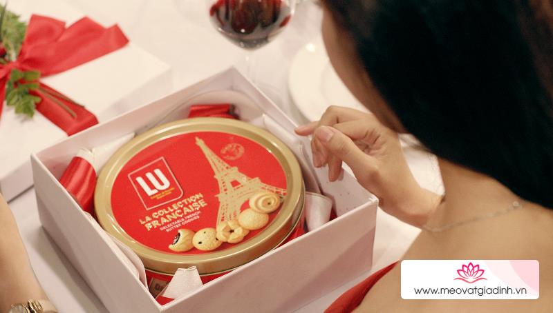 Các hộp bánh quy đẹp, ngon thích hợp làm quà tặng ngày Tết