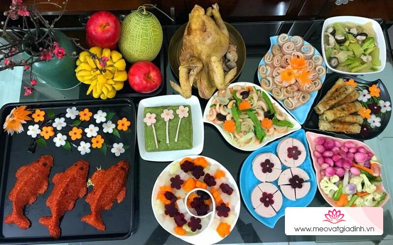 Các món ăn được cúng trong ngày Ông Công Ông Táo