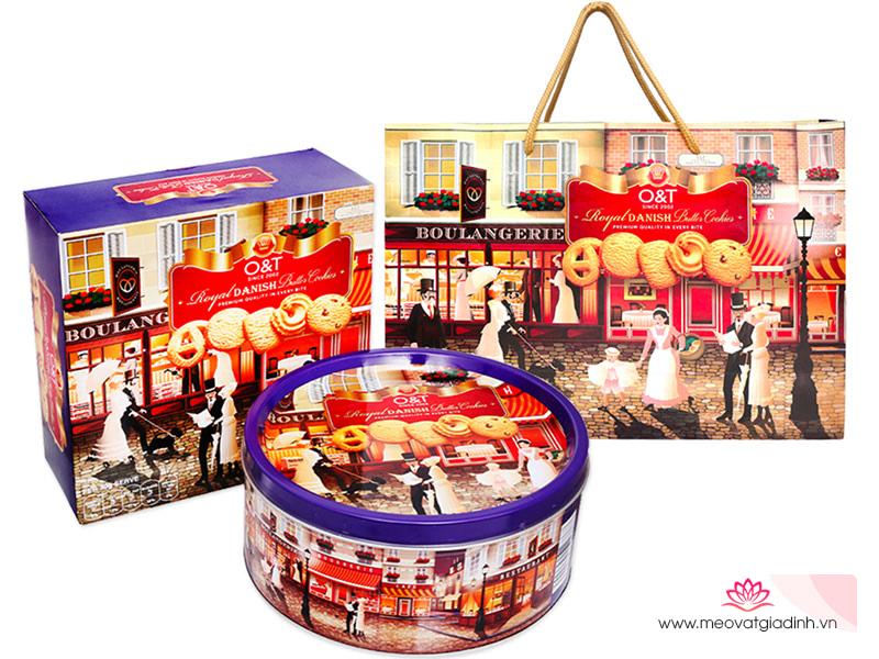Review bánh quy bơ cao cấp O&T Royal Danish, món quà Tết vừa sang trọng vừa ý nghĩa