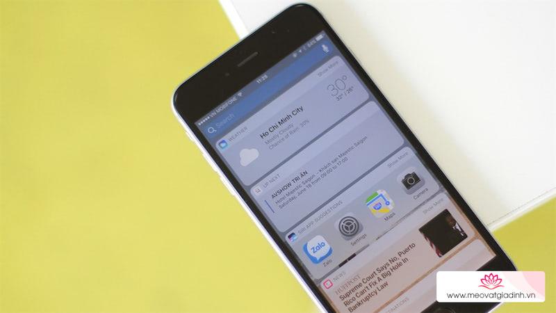 7 mẹo đơn giản giúp tăng tốc iPhone đời cũ sau khi nâng cấp iOS 10