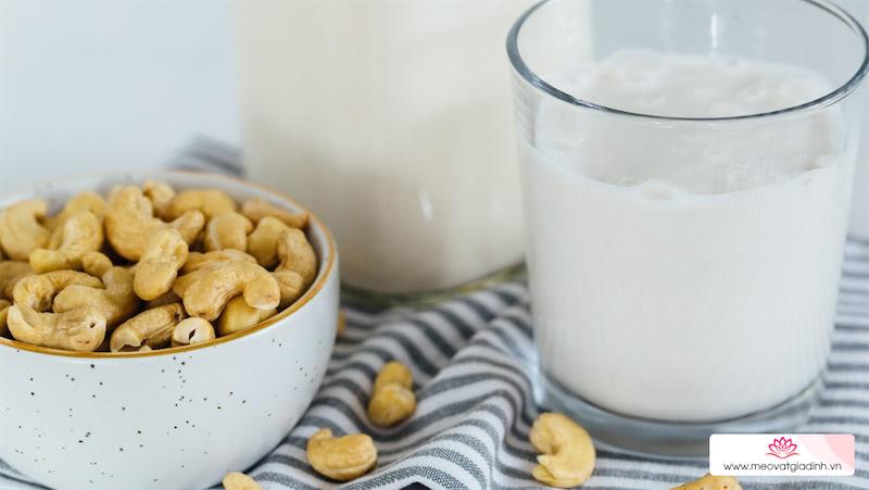 9 tác dụng của sữa hạt điều đối với cơ thể có thể bạn chưa biết