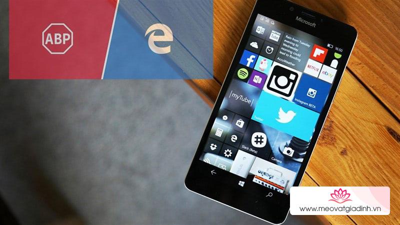 Hướng dẫn cài đặt AdBlock (chặn quảng cáo) trên Windows 10 Mobile