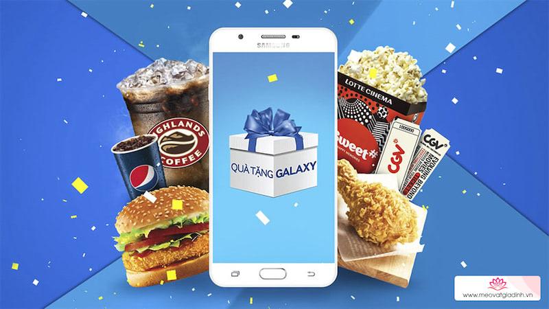Ăn KFC, xem CGV, uống Highland miễn phí dành cho người dùng Samsung