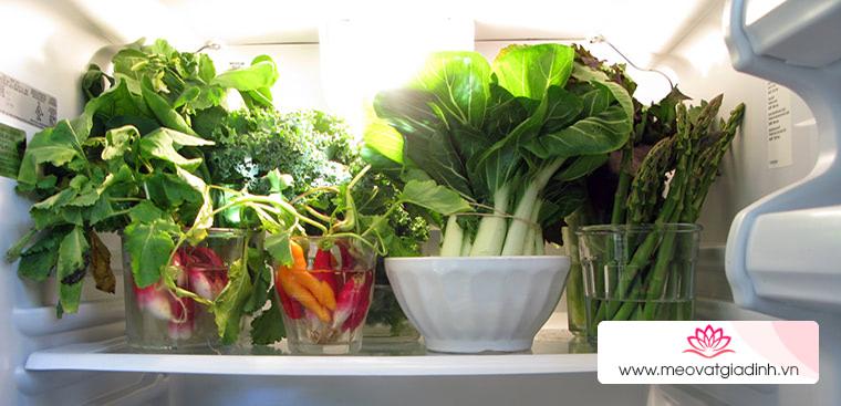 5 mẹo bảo quản rau củ trong tủ lạnh đúng cách giúp rau củ tươi lâu