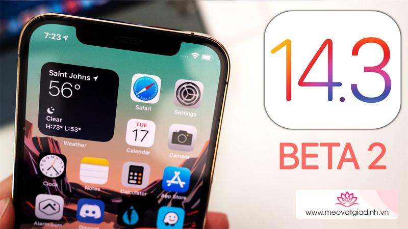 Cách cập nhật iOS 14.3 Beta 2 chính thức không cần Profile Developer