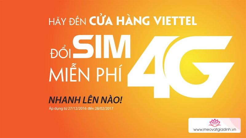 Cách đăng ký SIM 4G Viettel hoàn toàn miễn phí, đừng bỏ lỡ!