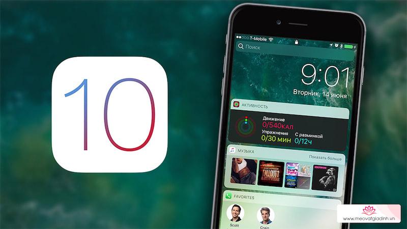 Cách khắc phục những lỗi thường gặp trên iOS 10