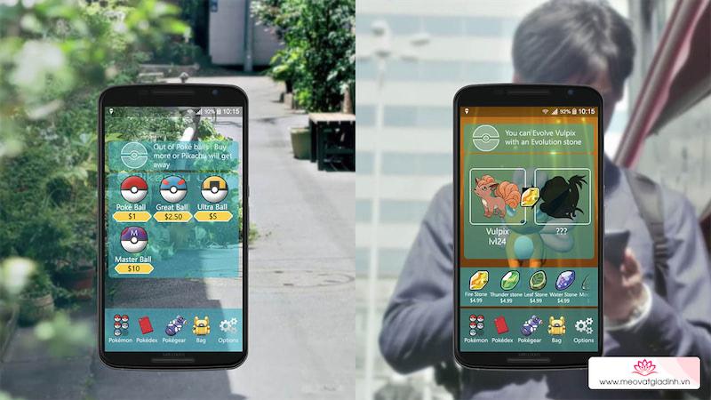 Cách kiểm tra các vật phẩm trong Pokémon Go