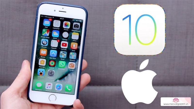 Cách nâng cấp iOS 10 để tránh lỗi bảo mật và trải nghiệm các tính năng mới