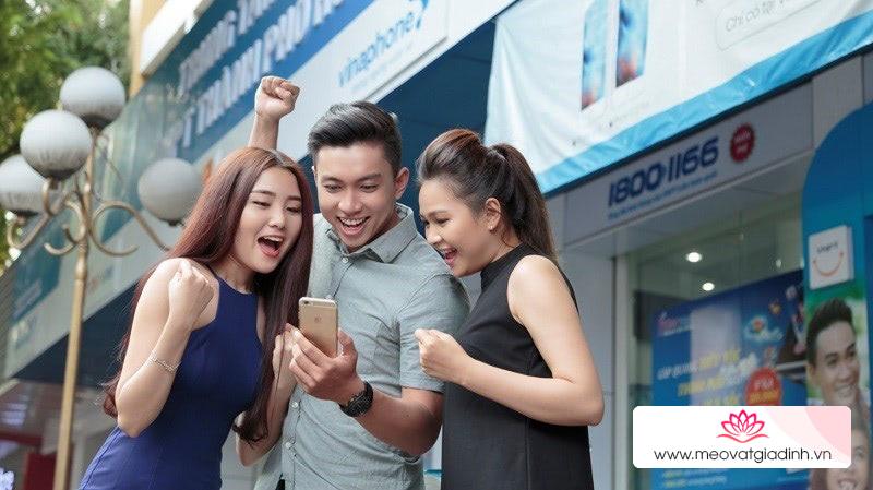 Cách nhận ngay 1GB Data miễn phí của Vinaphone