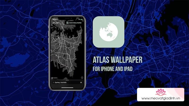 Cách tạo hình nền bản đồ đẹp, độc, lạ trên iPhone