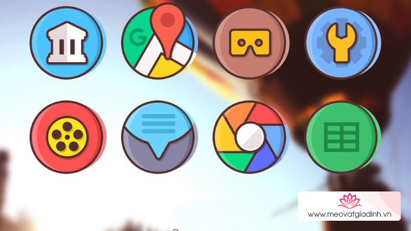 Cách thay đổi biểu tượng ứng dụng Android trở nên thú vị hơn