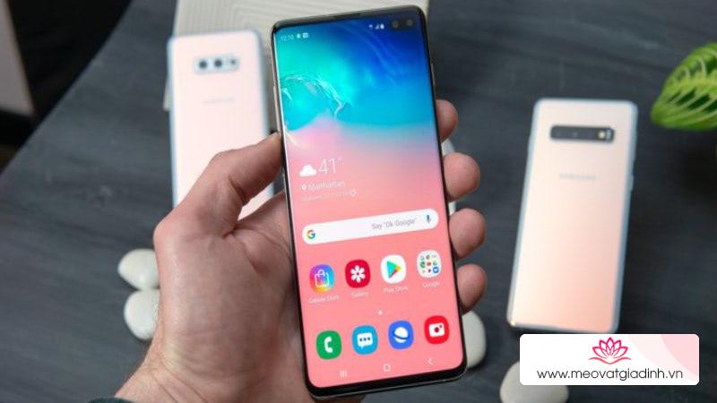 Cách thay đổi cử chỉ điều hướng của Galaxy S10 giống iPhone