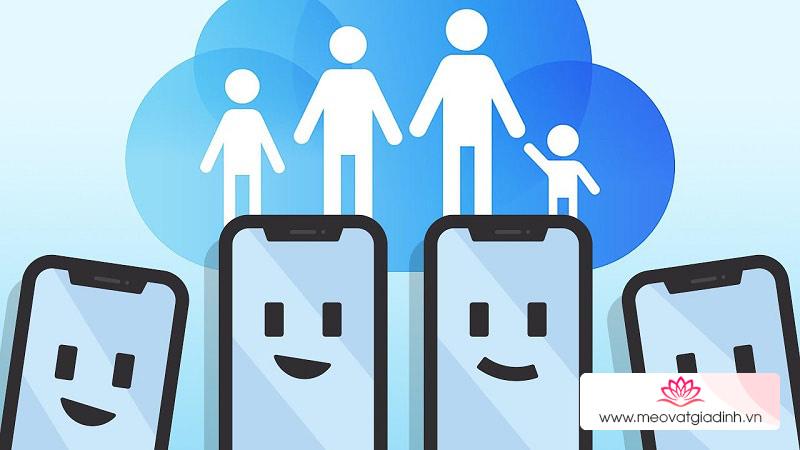 Cách thiết lập tính năng Chia sẻ trong gia đình dành cho các thiết bị Apple