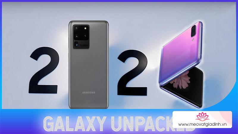 Cách xem trực tiếp sự kiện hoành tráng ra mắt Samsung Galaxy S20 Series