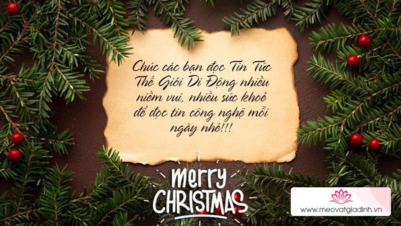 Chúc mừng giáng sinh! Mẹo làm thiệp trực tuyến để tặng ba mẹ, chị em, crush