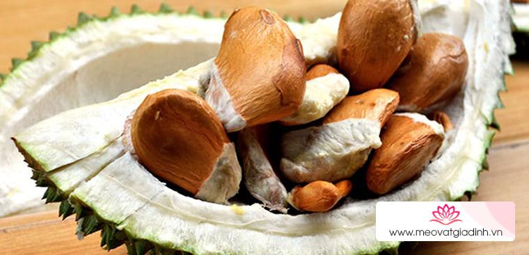 Hạt sầu riêng có ăn được không? Các món ngon chế biến từ hạt sầu riêng
